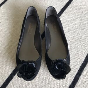 4/$25 Talbots Suede Flats